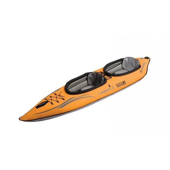 Advanced Elements Lagoon 2 Personen Kajak Luftboot Schlauboot orange-grey hier im Advanced Elements-Shop günstig online bestelle