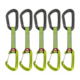 Ocun Hawk Qd Combi 16 mm 10 cm 5-Pack Expressschlinge green