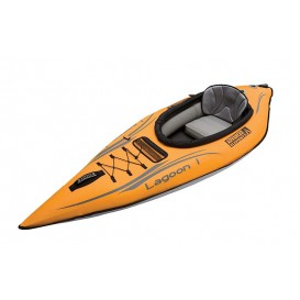 Advanced Elements Lagoon 1 Personen Kajak Luftboot Schlauboot orange-grey