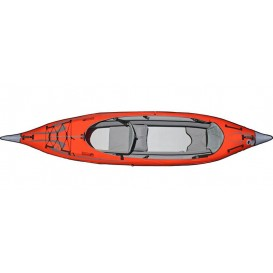 Advanced Elements Advanced Frame Convertible TM Elite Kajak Luftboot red-grey hier im Advanced Elements-Shop günstig online best