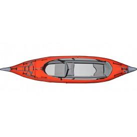 Advanced Elements Advanced Frame Convertible TM Elite Kajak Luftboot red-grey im ARTS-Outdoors Advanced Elements-Online-Shop gün