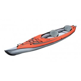 Advanced Elements Advanced Frame Convertible TM Kajak Luftboot red-grey