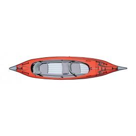 Advanced Elements Advanced Frame Convertible TM Kajak Luftboot red-grey im ARTS-Outdoors Advanced Elements-Online-Shop günstig b