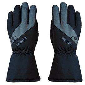 Roeckl Auron Skihandschuh Winterhandschuh schwarz-grau