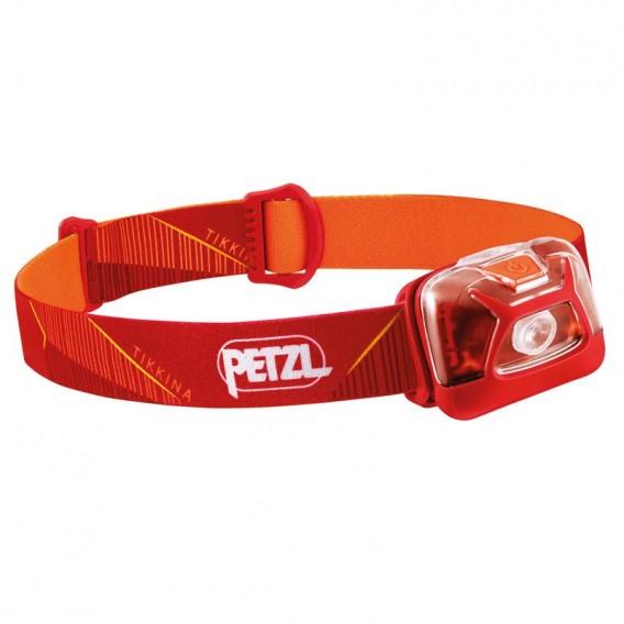 Petzl Tikkina Stirnlampe Helmlampe 250 Lumen rot hier im Petzl-Shop günstig online bestellen