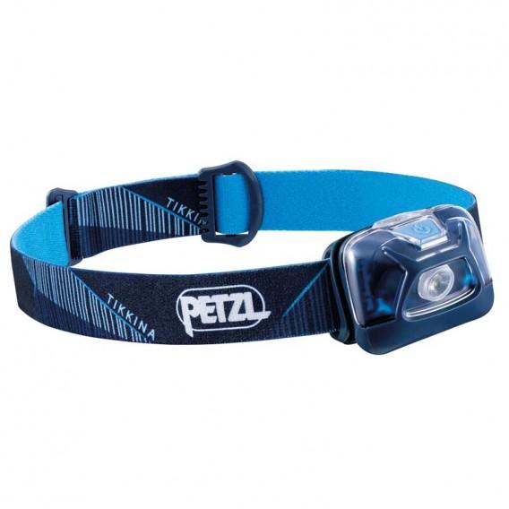 Petzl Tikkina Stirnlampe Helmlampe 250 Lumen dunkelblau hier im Petzl-Shop günstig online bestellen