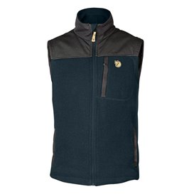 Fjällräven Buck Fleece Vest Herren Fleeceweste dark navy im ARTS-Outdoors Fjällräven-Online-Shop günstig bestellen