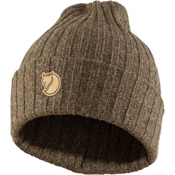 Fjällräven Byron Hat Strickmütze dark olive-taupe hier im Fjällräven-Shop günstig online bestellen