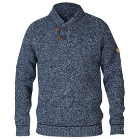 Fjällräven Lada Sweater Herren Pullover Strickpullover dark navy