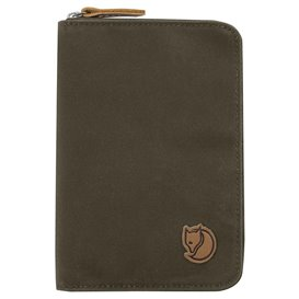 Fjällräven Passport Wallet Reisebrieftasche Reisepasstasche dark olive