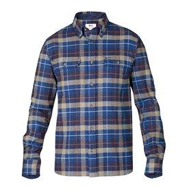 Fjällräven Singi Heavy Flannel Shirt Herren Outdoor und Freizeit Hemd navy