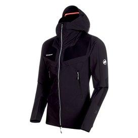 on sale 9a769 c21b3 Mammut Aenergy Pro SO Hooded Jacket Herren Softshelljacke black