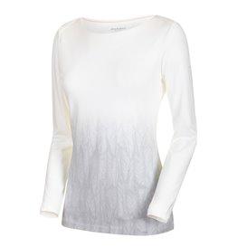 Mammut Alnasca Longsleeve Damen Sweatshirt Langarmshirt bright white