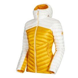Mammut Broad Peak IN Hooded Jacket Damen Winterjacke Daunenjacke golden-bright white im ARTS-Outdoors Mammut-Online-Shop günstig