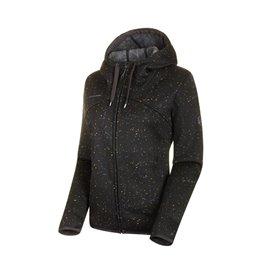 Mammut Chamuera ML Hooded Jacket Damen Fleecejacke black im ARTS-Outdoors Mammut-Online-Shop günstig bestellen