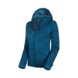 Mammut Chamuera ML Hooded Jacket Damen Fleecejacke sapphire im ARTS-Outdoors Mammut-Online-Shop günstig bestellen
