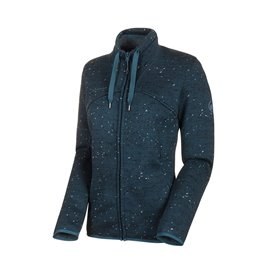 Mammut Chamuera ML Jacket Damen Fleecejacke wing teal