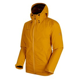 Mammut Convey 3 in 1 HS Hooded Jacket Herren Winterjacke 3in1 Doppeljacke golden-black im ARTS-Outdoors Mammut-Online-Shop günst