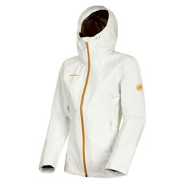 Mammut Convey Tour HS Hooded Jacket Damen Regenjacke Hardshelljacke bright white hier im Mammut-Shop günstig online bestellen
