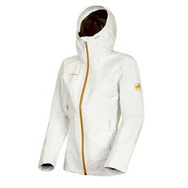 Mammut Convey Tour HS Hooded Jacket Damen Regenjacke Hardshelljacke bright white