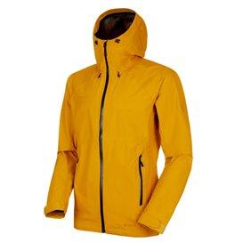 Mammut Convey Tour HS Hooded Jacket Herren Regenjacke Hardshelljacke golden