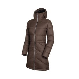 Mammut Fedoz IN Hooded Parka Damen Wintermantel Daunenjacke light deer hier im Mammut-Shop günstig online bestellen