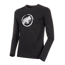 Mammut Logo Longsleeve Herren Sweatshirt Langarmshirt black