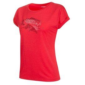 Mammut Mountain T-Shirt Damen Freizeit- und Outdoor Kurzarmshirt dragon fruit