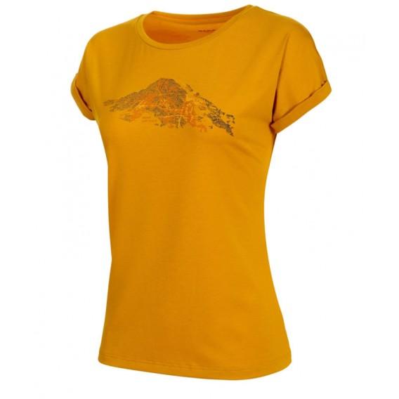 Mammut Mountain T-Shirt Damen Freizeit- und Outdoor Kurzarmshirt golden hier im Mammut-Shop günstig online bestellen