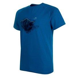 Mammut Mountain T-Shirt Herren Freizeit- und Outdoor Kurzarmshirt sapphire