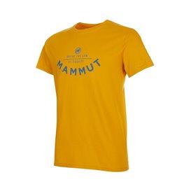 Mammut Seile T-Shirt Herren Freizeit- und Outdoor Kurzarmshirt golden PRT2