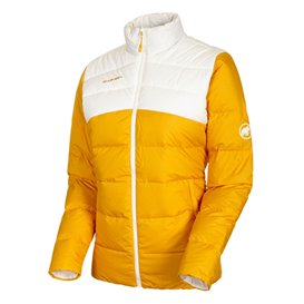 Mammut Whitehorn IN Jacket Damen Winterjacke Daunenjacke golden-bright white hier im Mammut-Shop günstig online bestellen
