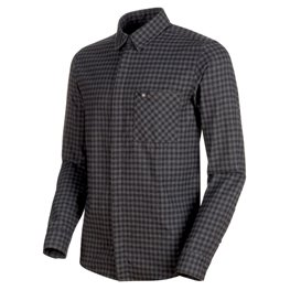Mammut Winter Longsleeve Shirt Herren Sweatshirt Langarmshirt titanium-phantom