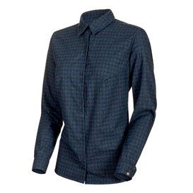Mammut Winter Longsleeve Shirt Damen Sweatshirt Langarmshirt wing teal-dark wing teal hier im Mammut-Shop günstig online bestell