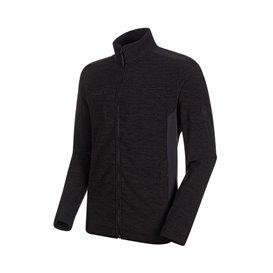 Mammut Yadkin ML Jacket Herren Fleecejacke black mélange-black