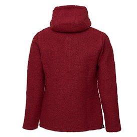 Mufflon Jula Damen Wolljacke ruby hier im Mufflon-Shop günstig online bestellen