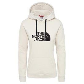 The North Face Drew Peak Crew Hoodie Damen Pullover vintage white-black im ARTS-Outdoors The North Face-Online-Shop günstig best