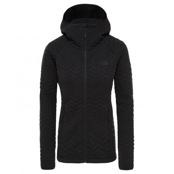 The North Face Inlux Tech Damen Fleecejacke black heather hier im The North Face-Shop günstig online bestellen