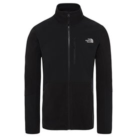 The North Face Glacier Pro Full-Zip Herren Fleecejacke black