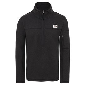 The North Face Gordon Lyons 1/4 Zip Herren Fleecepullover black