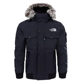 The North Face Gotham Jacket Herren Daunenjacke Winterjacke black-grey