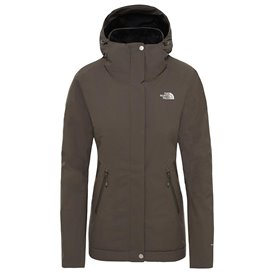 The North Face Inlux Insulated Jacket Damen Winterjacke taupe green