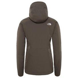 The North Face Inlux Insulated Jacket Damen Winterjacke taupe green hier im The North Face-Shop günstig online bestellen