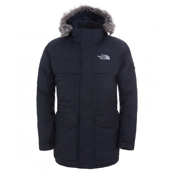 The Murdo North Herren Daunenjacke MC Face black Winterjacke 0vmn8ONw