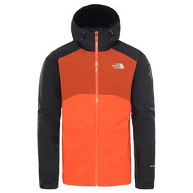 The North Face Stratos Jacket Herren Hardshelljacke Regenjacke orange