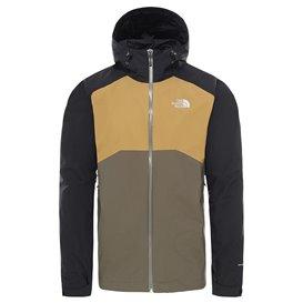 The North Face Stratos Jacket Herren Hardshelljacke Regenjacke black-khaki hier im The North Face-Shop günstig online bestellen