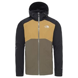 The North Face Stratos Jacket Herren Hardshelljacke Regenjacke black-khaki