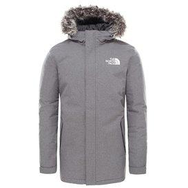 The North Face Zaneck Jacket Herren Wintermantel Parka grey heather