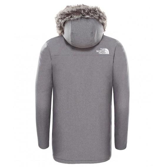 The North Face Zaneck Jacket Herren Wintermantel Parka grey heather hier im The North Face-Shop günstig online bestellen