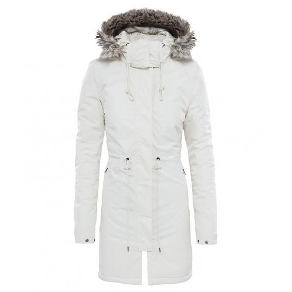 big sale b17e8 2301d The North Face Zaneck Parka Damen Wintermantel Parka vintage white